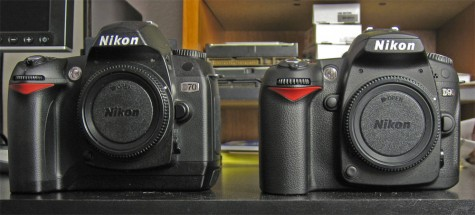 D90 vs D70: The Body and Controls | Geeky Weekly