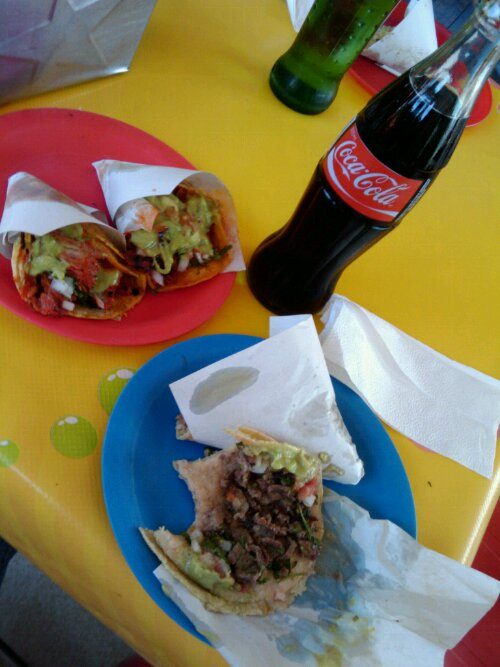 Tacos and Coke in TJ